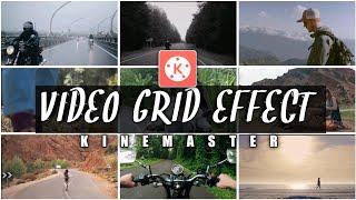 How to make VIDEO GRID or VIDEO WALL in Kinemaster | Kinemaster Video Editing screenshot 1