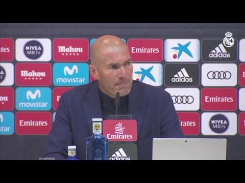 Zinedine Zidane goodbye press conference.