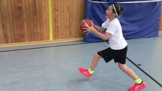Lay Up exercises for young Kids - Basketball Medium Level