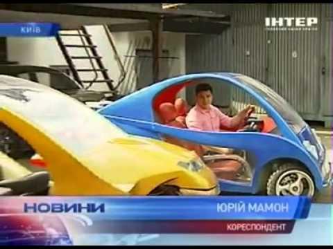 Украинский изобретатель создает уникальный народный автомобиль