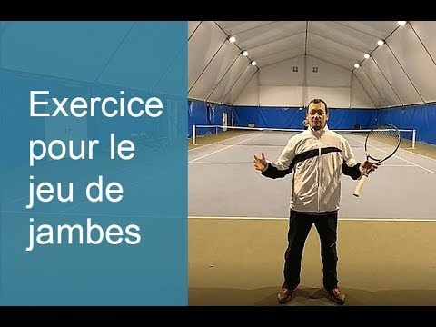Exercice pour le jeu de jambes au tennis - YouTube