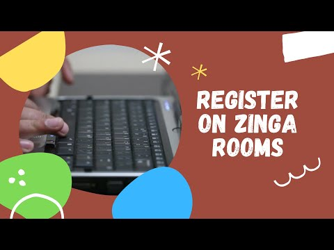 How to register on Zinga Rooms