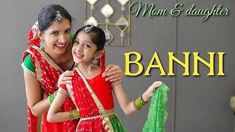 Banni | Rajasthani song | Nivi and Ishanvi | Laasya Dance choreography | Kapil Jangir | Komal Kanwar