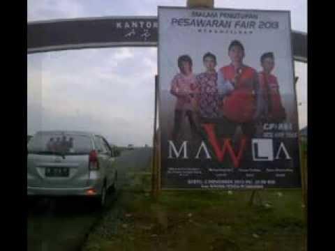 MAWLA band kupulangkan cintamu (editing) PESAWARAN FAIR 2013