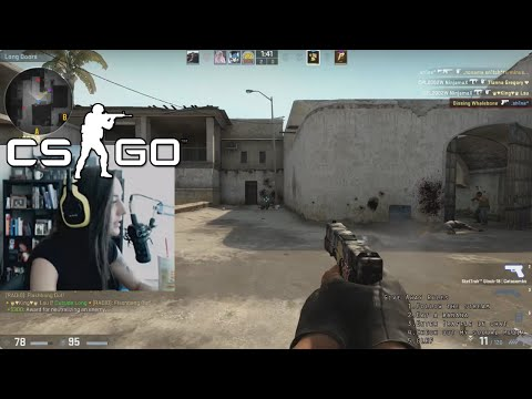 PLAYING WITH GLOBAL HACKERS (CS:GO Comp)
