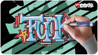 Graffiti Tutorial - Funk Block Style für Anfänger geeignet