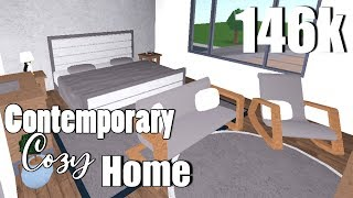 146k - France Touring My Contemporary Cozy Home - France Bloxburg Roblox