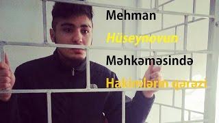 Mehman Hüseynovun Məhkəməsidə Hakimlər Qərəzli Davranış Nümayiş Etdiriblər