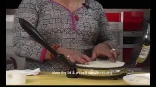 Repeat youtube video Electric Roti maker Easy Demo nepal