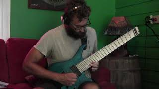 """Haken """"Messiah Complex II: A Glutton for Punishment"""" GUITAR COVER"""