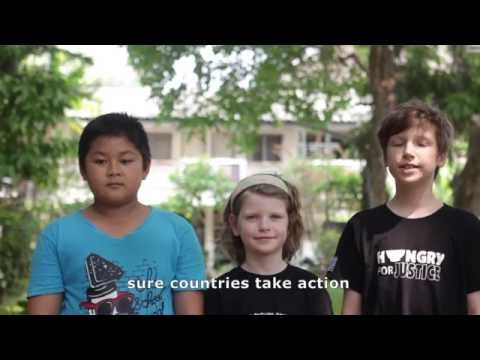 Archie Lappin of Thailand asks United Nations Secretary-General candidates about climate change