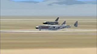 FSX:Antonov AN-225 and C-5 galaxy