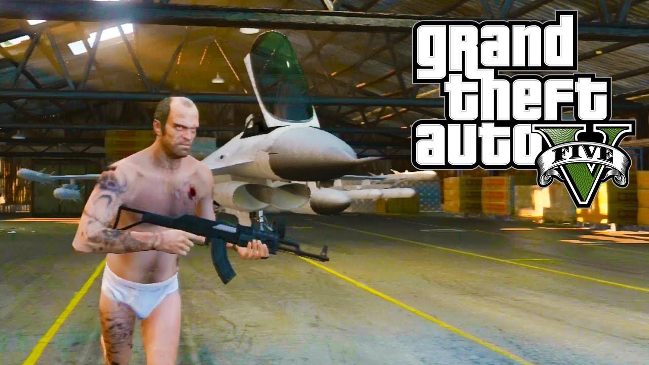GTA 5 - How to get a Fighter Jet! (GTA V)