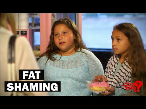 Thumbnail: Mother Fat Shames Daughter | What Would You Do? | WWYD