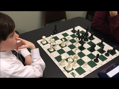 7 Year Old Sets Up Nasty Queen Trap! Will His Opponent See It??? Golan vs. Michael |