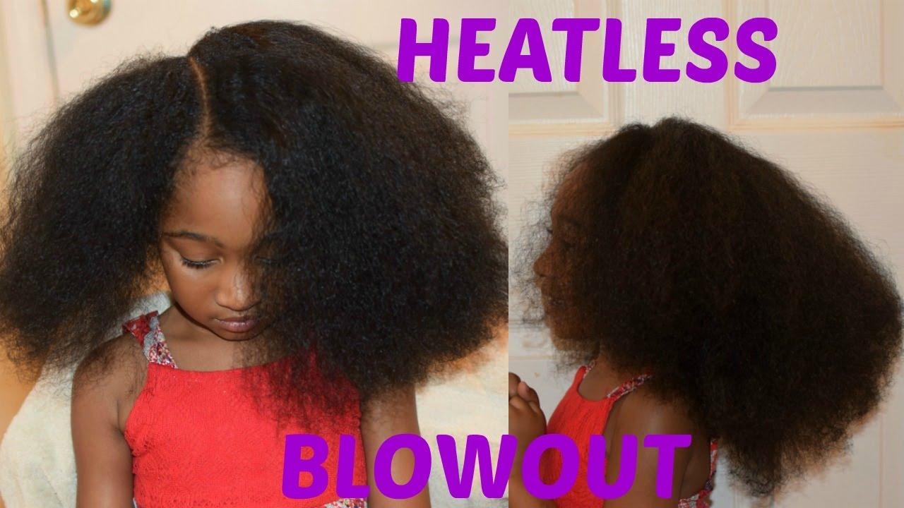 kids natural hairstyles heatless