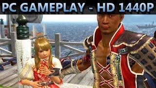 Way of the Samurai 4 | PC GAMEPLAY | HD 1440P