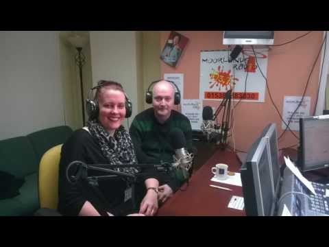 Talking YHG Work Clubs on Moorlands radio