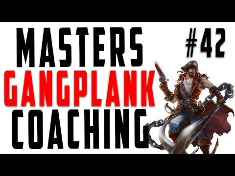 Masters Coaching #42 - Gangplank Top (Platinum 5)