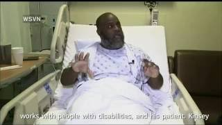 Autistic man's therapist, unarmed and laying down with hands up, shot by police