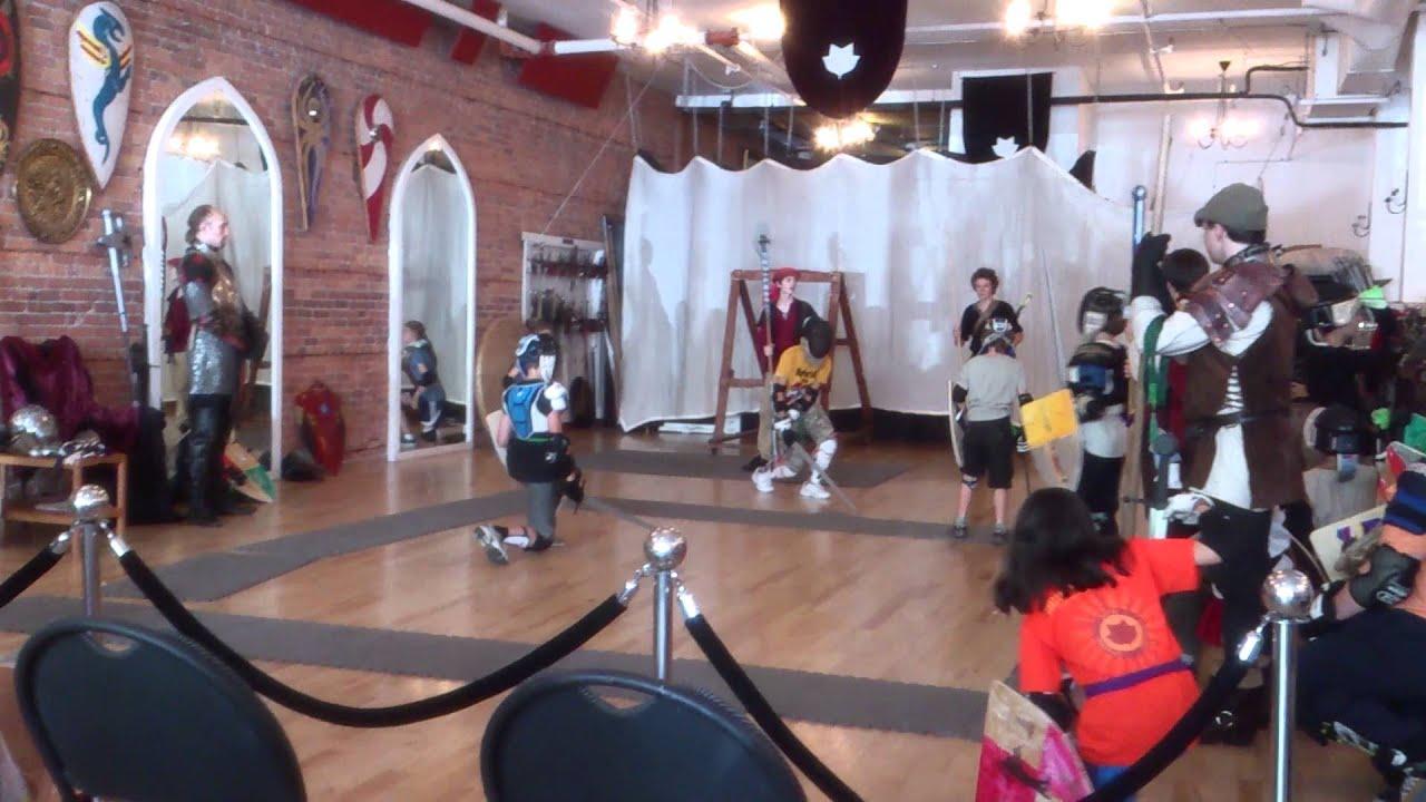 SwordFit at Academie Duello - YouTube