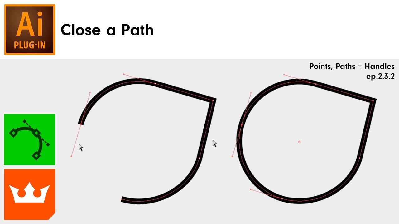 Close a Path in Illustrator | VectorScribe