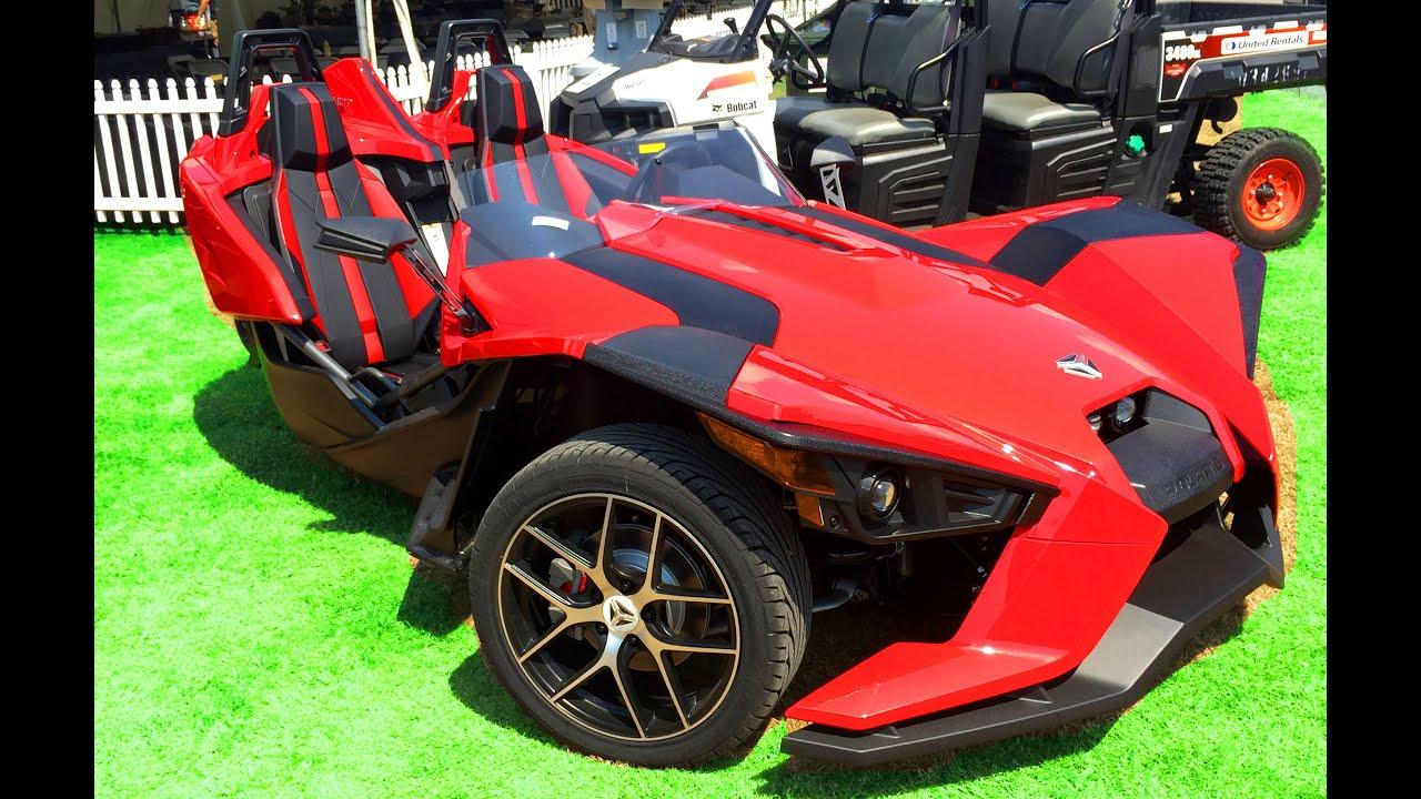 Polaris Slingshot 3 Wheel Car Motorcycle Review Youtube