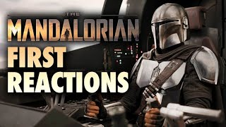 Star Wars: The Mandalorian - First Reactions Hit Online!