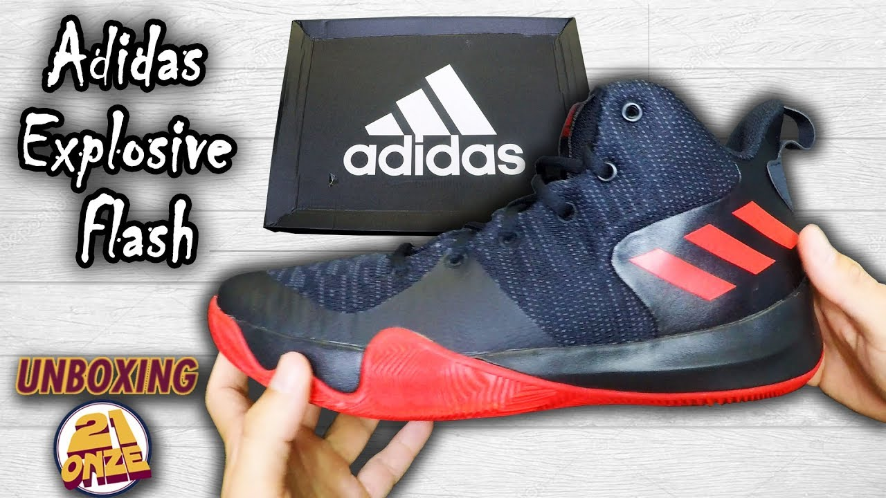 87bbbeef246 Unboxing Adidas Explosive Flash