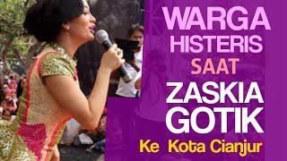 Video Warga Histeris Saat Zaskia Gotik ke Cianjur download MP3, 3GP, MP4, WEBM, AVI, FLV Desember 2017