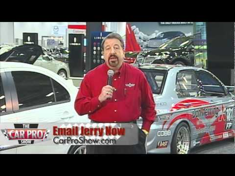 Jerry Reynolds The Car Pro At The Dallas Auto Show - The car pro show