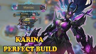 The One Shot Build For Karina |  Mobile Legends