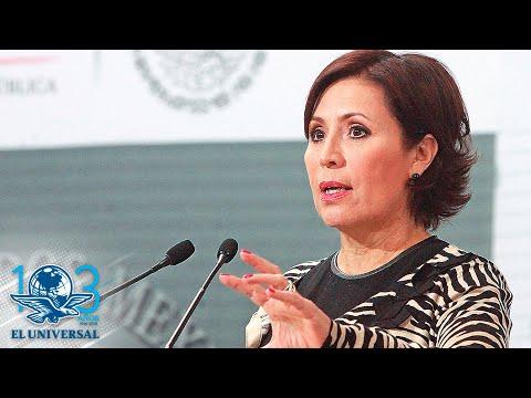 """Rosario Robles asegura que violan sus derechos en investigación por la """"estafa maestra"""""""