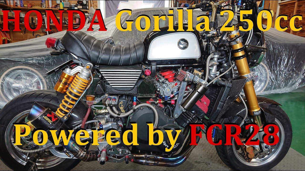 Honda Gorilla 250cc    FCR28   [ゴリラ250cc]