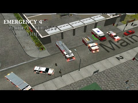 Emergency 4 FairFax County Mod Lets Play (Episode 3) - Traffic Accident!
