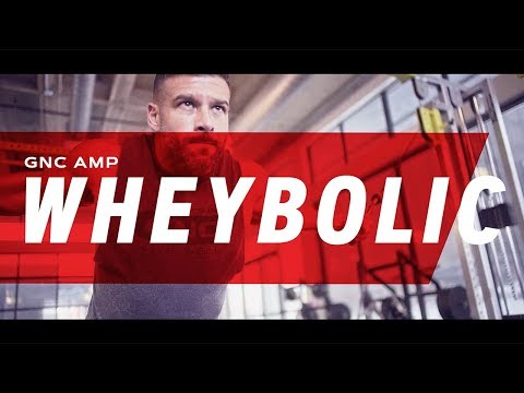 GNC AMP Wheybolic™: Proven To Perform Protein Powders