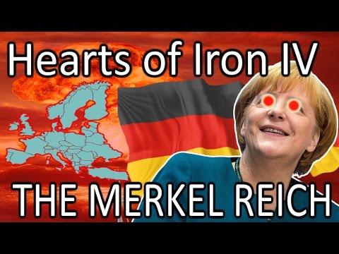 Hearts Of Iron 4: Modern Day - MERKEL'S INVASION