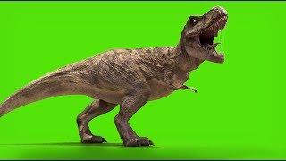 TRex Green screen Jurassic world