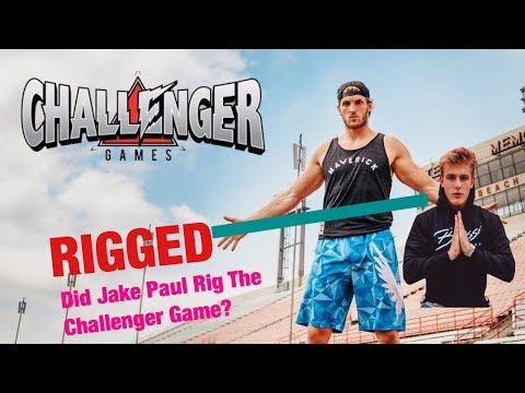 Exposing jake Paul for RIGGING the CHALLENGER GAMES.....