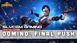 MCOC Time W/Slycem...Arena Grinding For 5* Domino Final Push For Top 150!!!