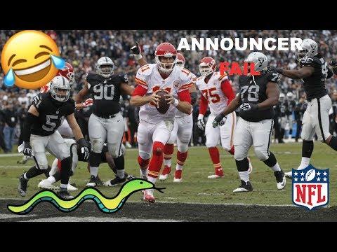Sports Announcers Make No Sense (ACTUAL NFL FOOTAGE)