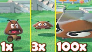 What if Mario enemies got flatter? [Super Mario 3D World + Bowser's Fury modding]