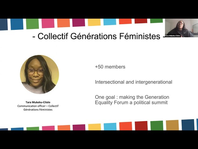 Launching a global campaign on gender equality ahead of the Generation Equality Forum