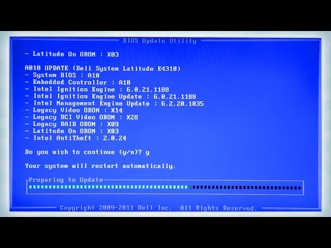 How to update BIOS using Linux - YouTube