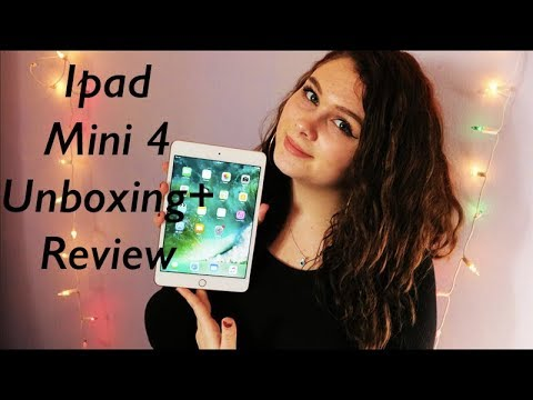 Apple Ipad Mini 4 Unboxing (Gold 128GB)// Nina Marie
