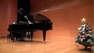 2011年12月18日 休日のピアニストによるクリスマスコンサート Les Frere...