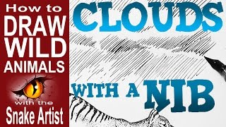 How to draw Clouds with Ink- and how to be an Ink Star