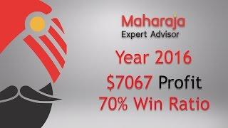 Forex. Year 2016. Profit $ 7067. 70% Win Ratio! Binary Options
