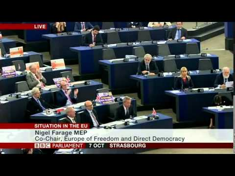 Nigel Farage and reality destroys Merkel over German dominance in Europe and refugee crisis
