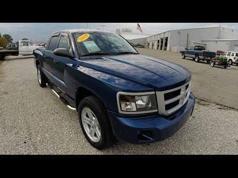 2009 Dodge Dakota Big Horn Blue   Used Trucks Martinsville   4x4   P9928A